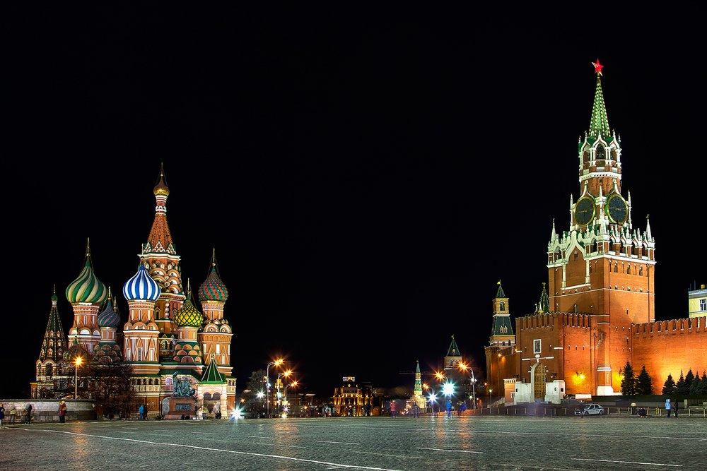 Luna di miele al freddo: Mosca