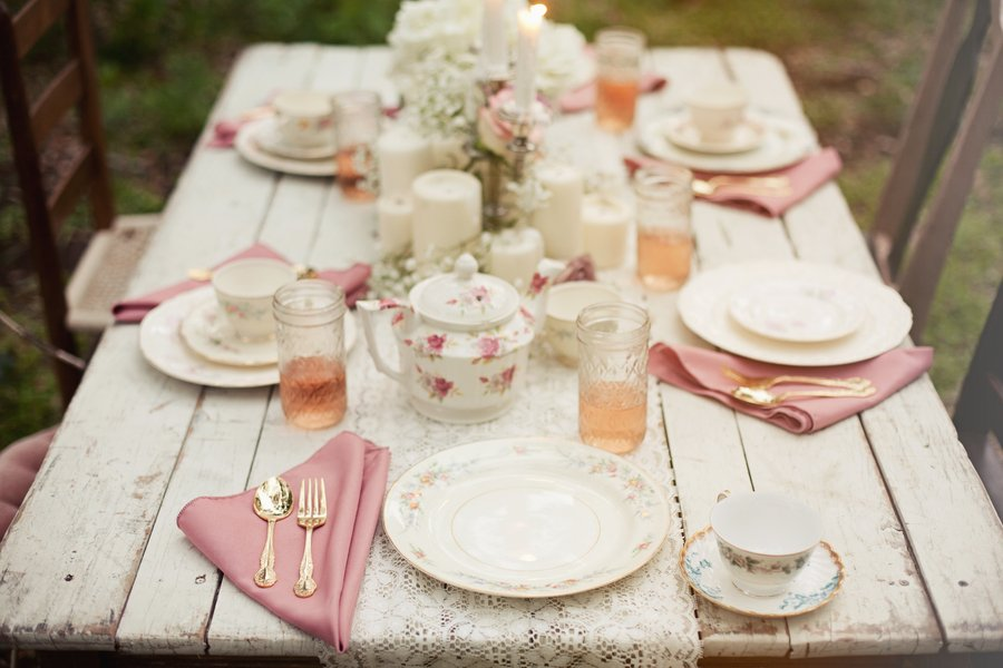 Come allestire la tavola per un matrimonio anni 50