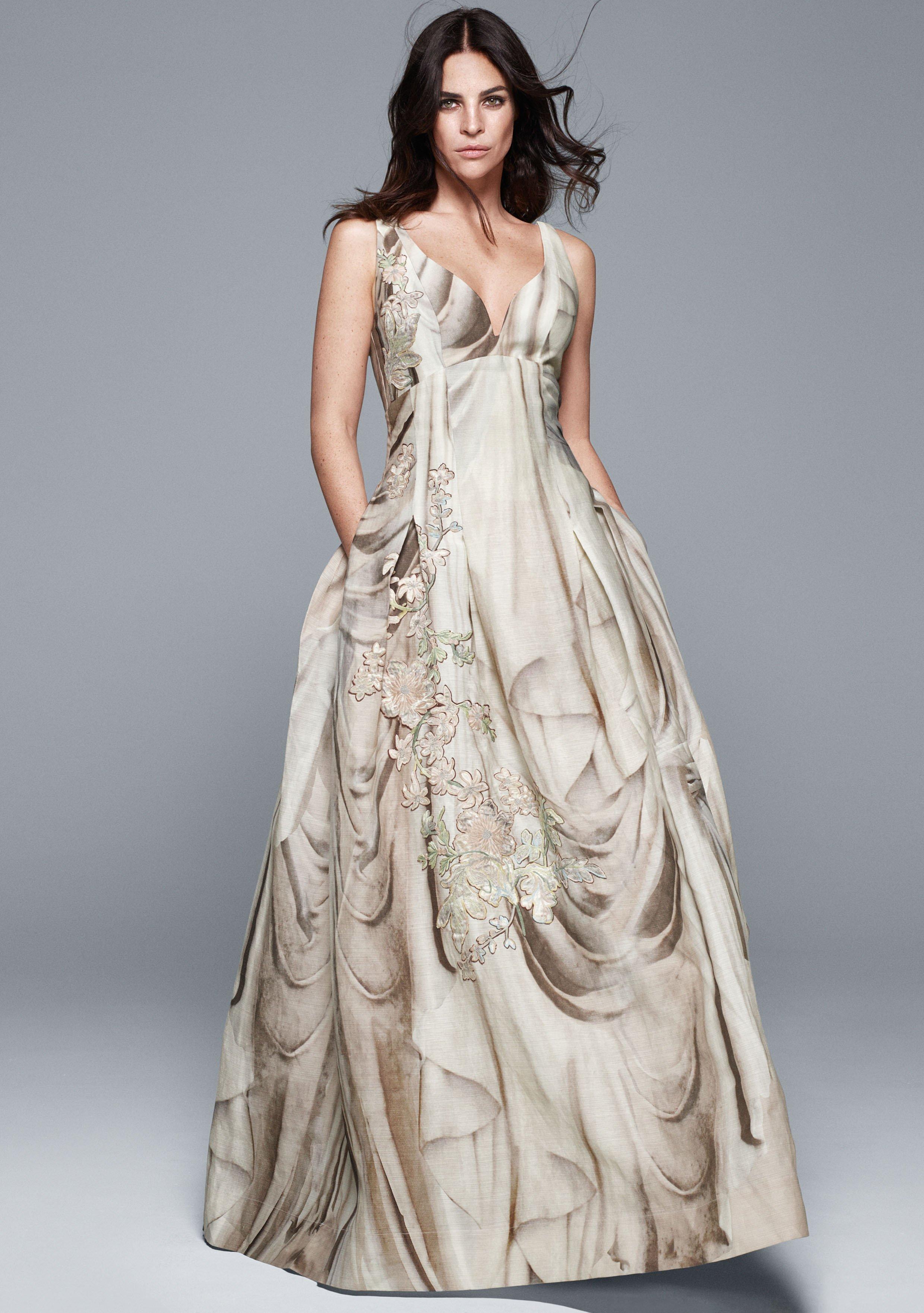 Abito da sposa low cost H&M Conscious exclusive 2016