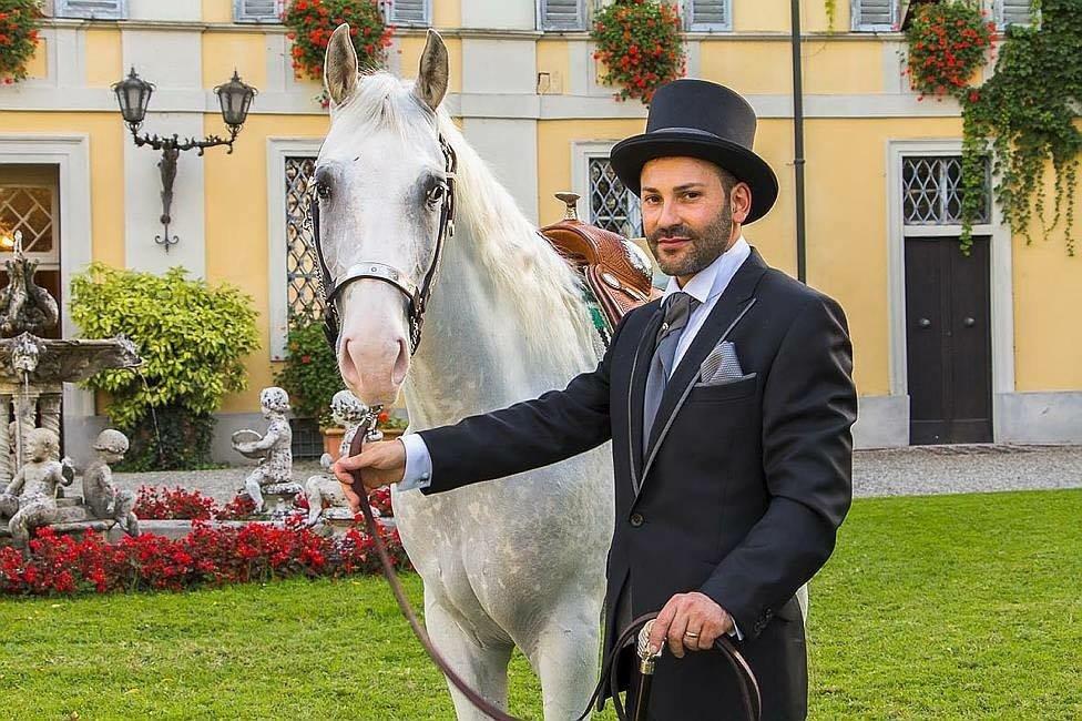 Moreno e il suo cavallo