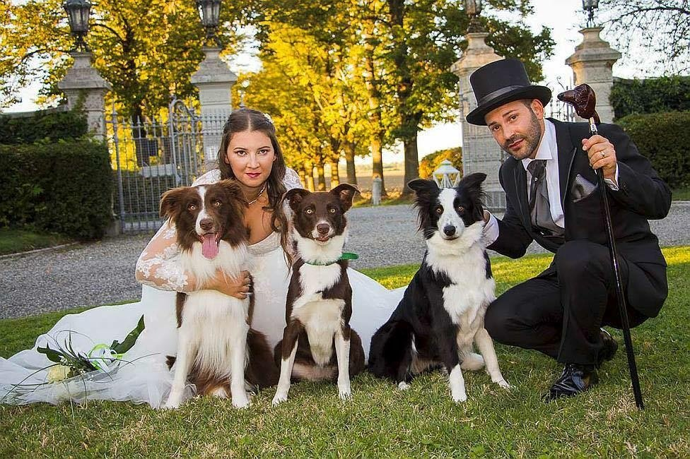 Chiara, Moreno e i loro amati cani