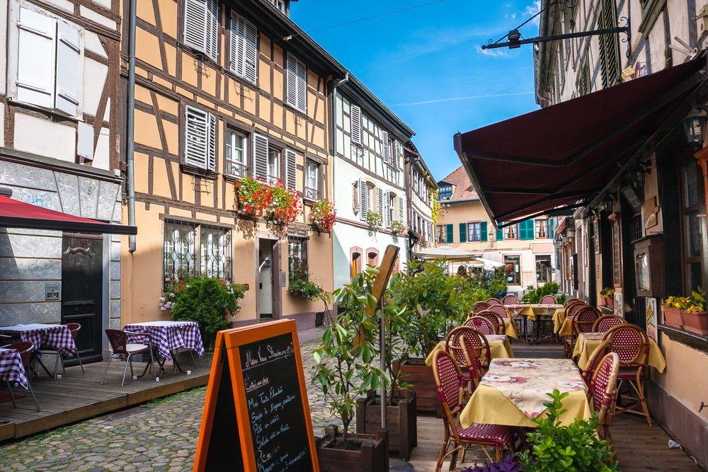 Viaggio di nozze in Alsazia, Strasburgo