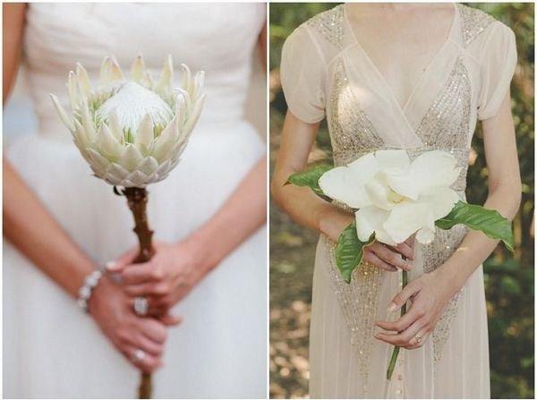 Bouquet con un unico fiore