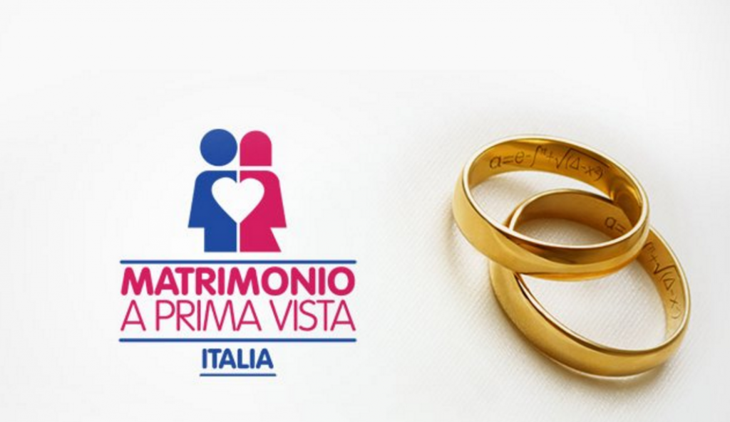 matrimonio a prima vista italia, il logo del programma