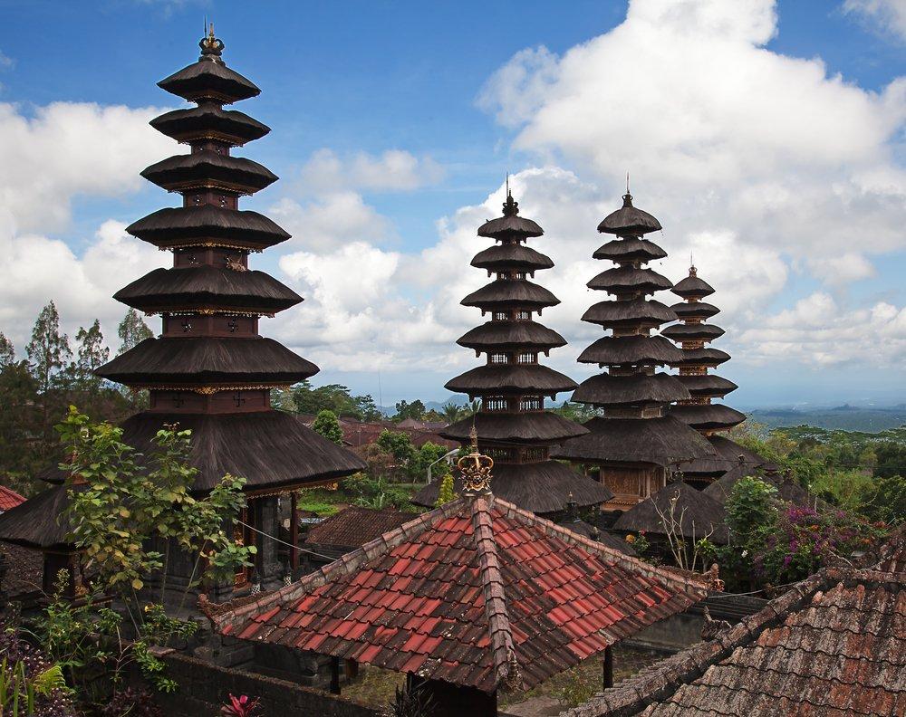 Viaggio di nozze a Bali, la visita ai templi