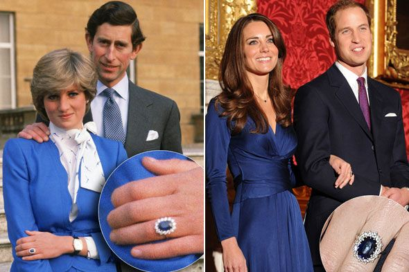 L'anello di fidanzamento vintage di Kate e Diana