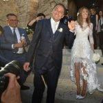Matrimonio Laura Ravetto, l'abito da sposa disegnato da lei