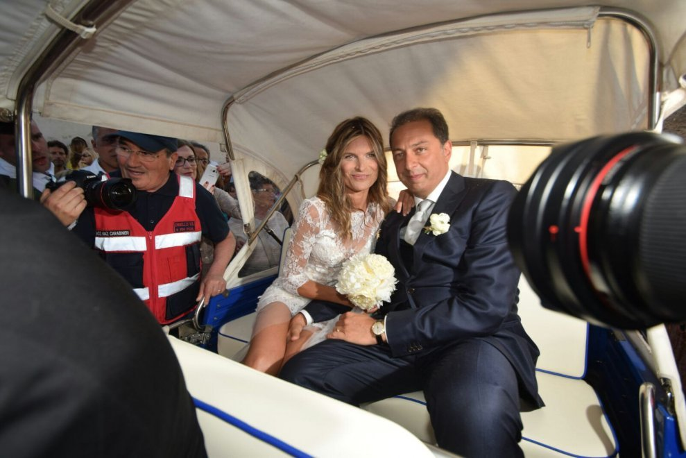 Laura Ravetto abito da sposa