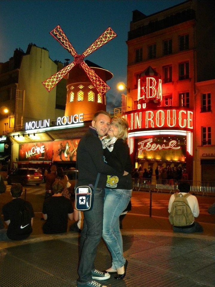 Glenda e Francesco a Parigi