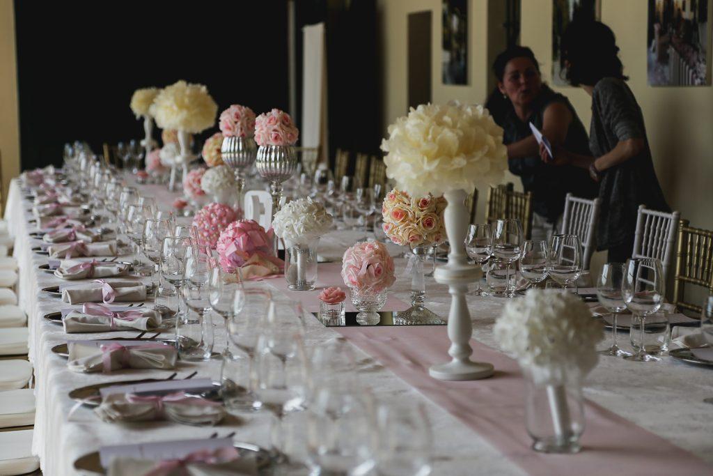matrimonio fai da te, l'allestimento della tavola