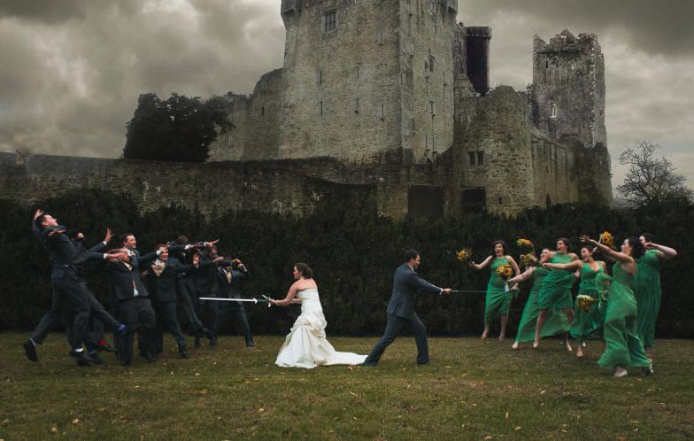 Matrimonio Tema Game Of Thrones : Foto matrimonio virale nozze tema games of thrones