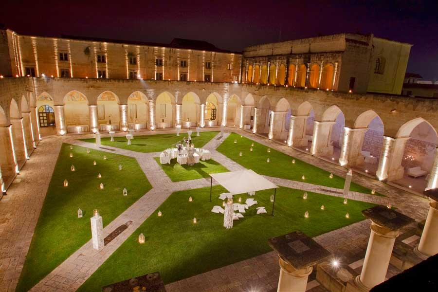 Location Chiostro dei domenicani a Lecce