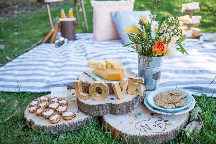 "Matrimonio a tema ""picnic"""