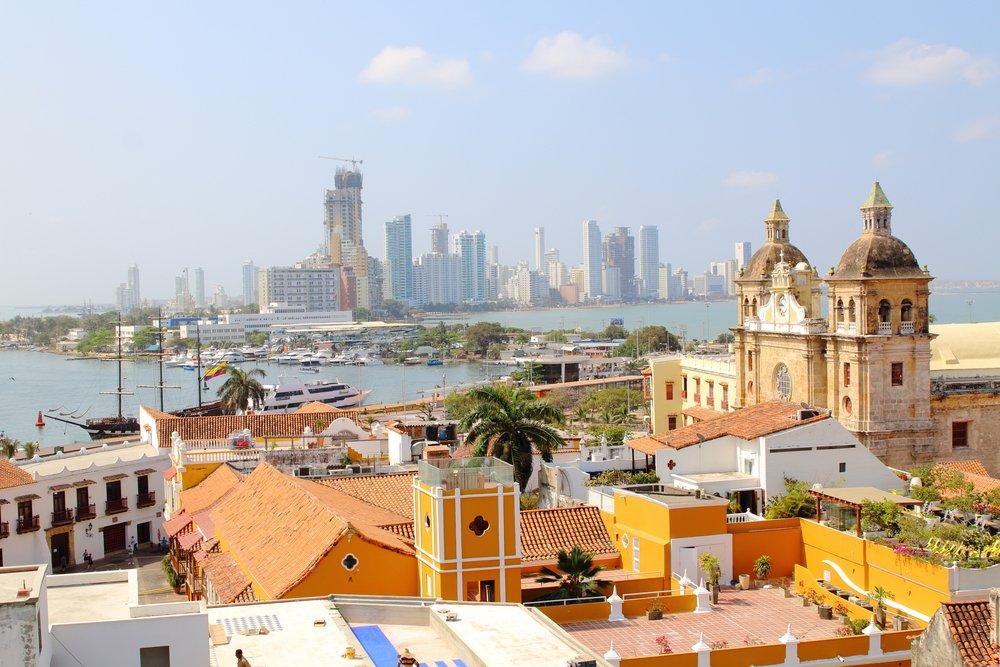 Viaggio di nozze in Colombia, Cartagena