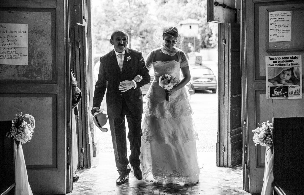 sposa timida ph. Andrea Pasquali