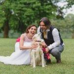 Lucia e Andrea, dall'amicizia all'amore in un matrimonio di colori