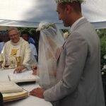 Terremoto, l'amore e la speranza: il matrimonio di Martina e Ramon