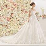 Abiti da sposa Aire Barcelona 2017: il trionfo del romanticismo