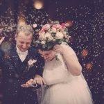 Silvia e Luca, un matrimonio creativo di musica e colore