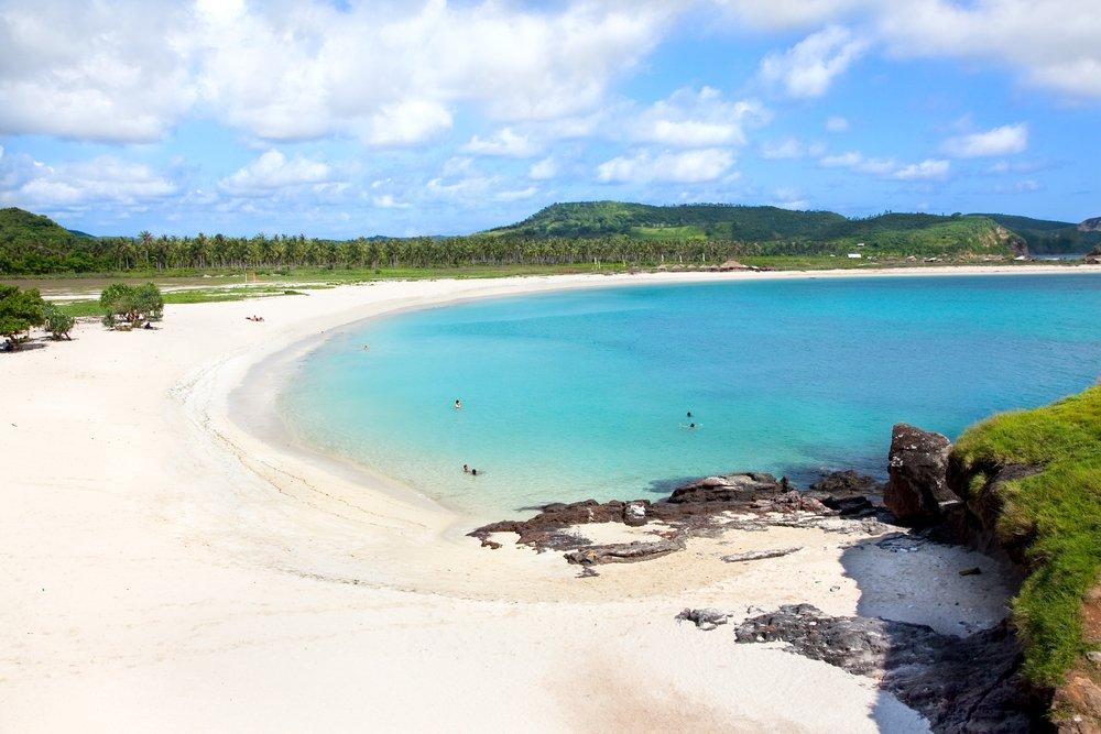 Viaggio di nozze a Lombok, spiaggia di Tanjung Aan