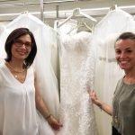 Il matrimonio di Tania Cagnotto, l'abito da sposa è Alessandra Rinaudo