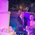 Le nozze da sogno di Martina Stella e Andrea Manfredonia a Sutri