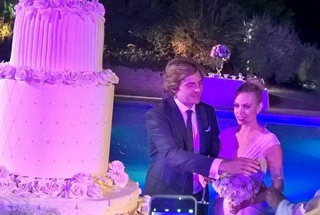 martina stella matrimonio