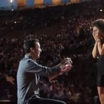 Proposta di matrimonio all'Arena di Verona, video