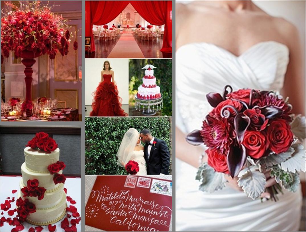matrimonio in rosso