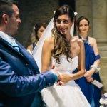 Un matrimonio fiabesco sui toni del turchese, le nozze di Sara e Andrea