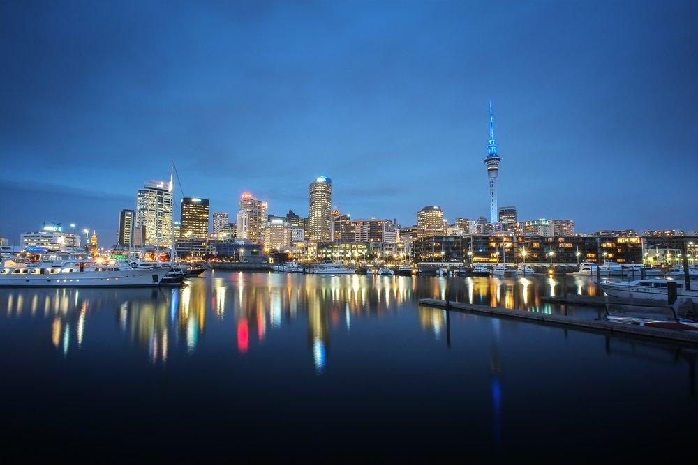 Viaggio di nozze in Nuova Zelanda, Auckland