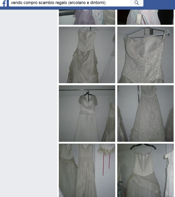c94fdbbffc0d Quale idea migliore se non quella di vendere il proprio abito da sposa  visto che non lo indosserete più