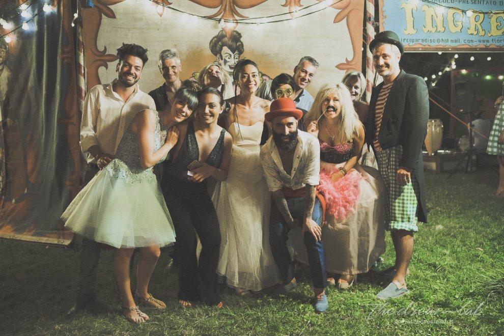 Matrimonio a tema circo