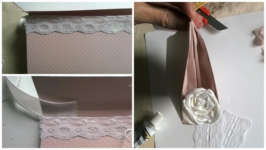 Dettagli decorativi fai da te wedding bag