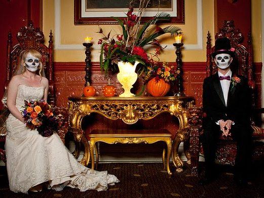Matrimonio Tema Halloween : Matrimonio tema halloween idee per sposarsi a ognissanti