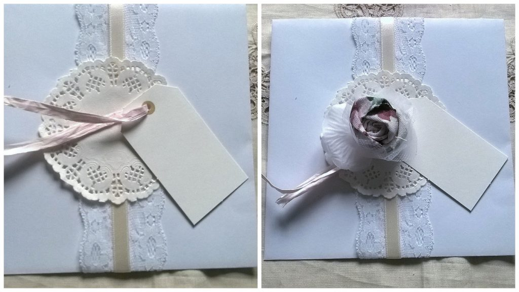 Decorazione low cost fai da te wedding bag
