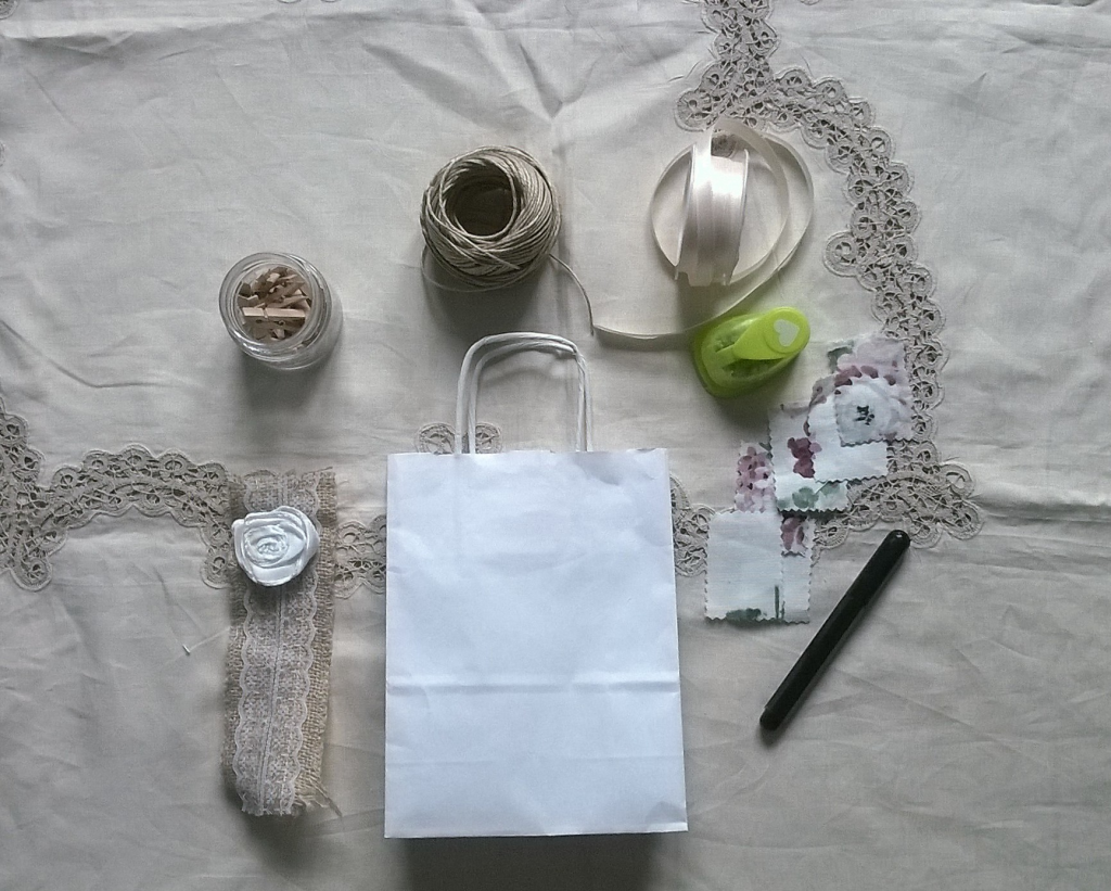 Tutorial wedding bag classica