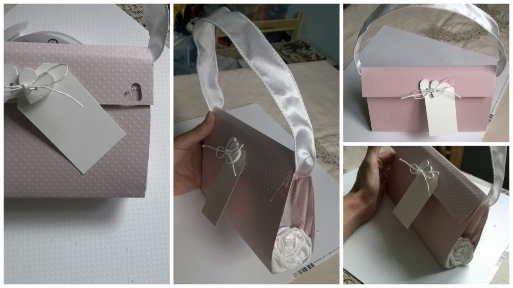 wedding bag decorazione shabby chic low cost