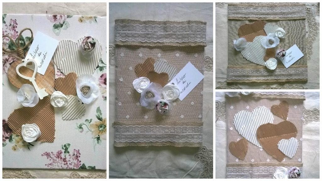 Guest book decorazione fai da te