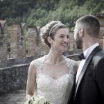 Alessandra e Fulvio: matrimonio al castello di Vigoleno
