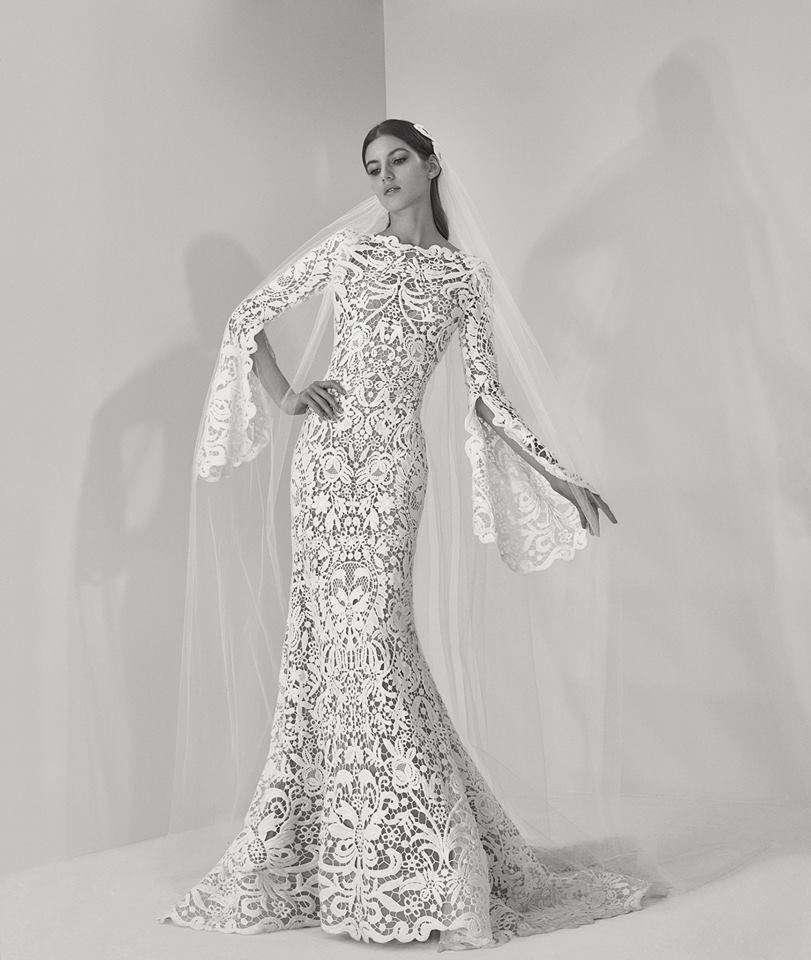 Elie Saab abito da sposa inverno 2017