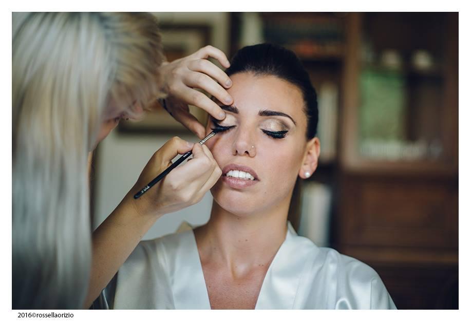 Il makeup della sposa