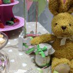 Baby party sui toni del rosa e del verde
