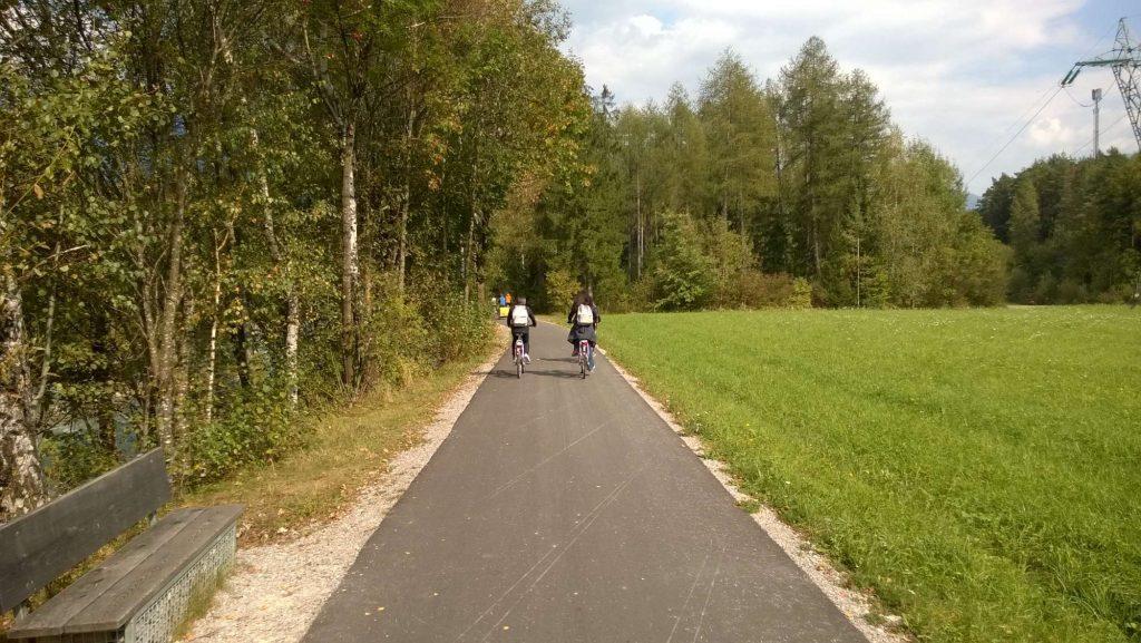 La pista della Drava ciclabile San Candido Lienz