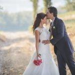 Alessandro e Ylenia: un matrimonio corallo e verde