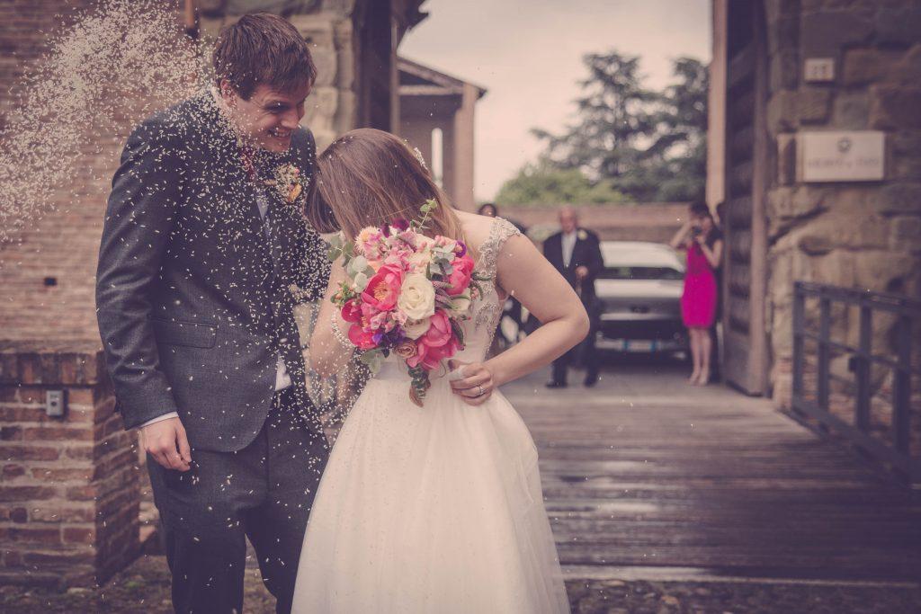 31329ab6abbe Il matrimonio italo-inglese di Sara e Daniel - Panorama Sposi