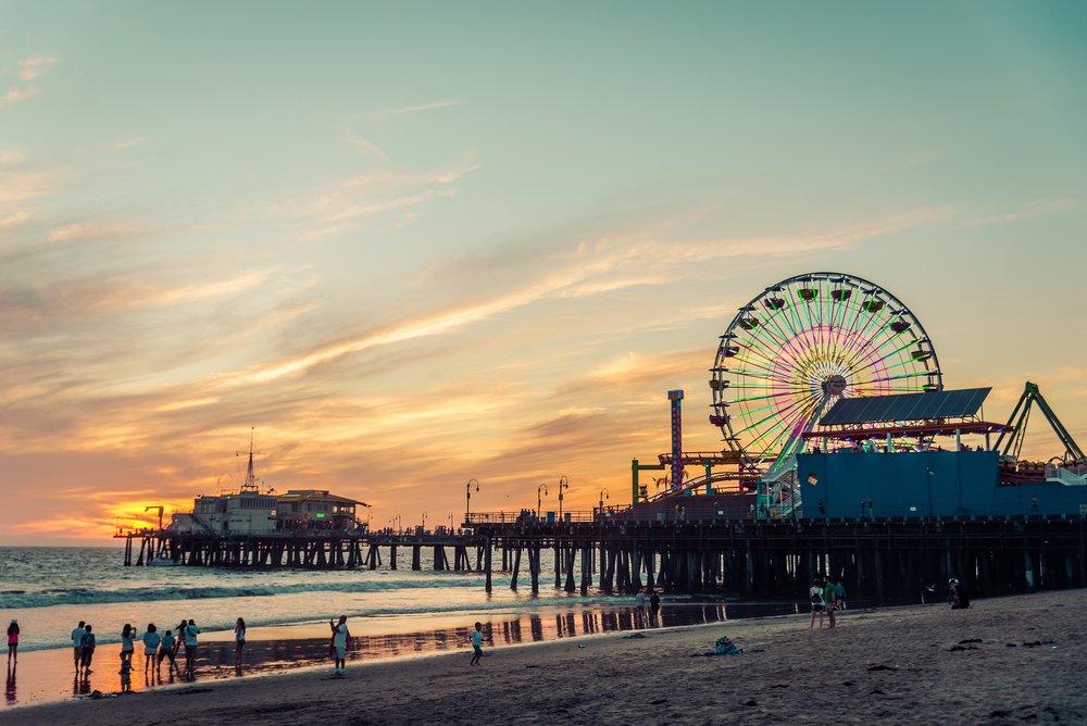Viaggio di nozze a Santa Monica