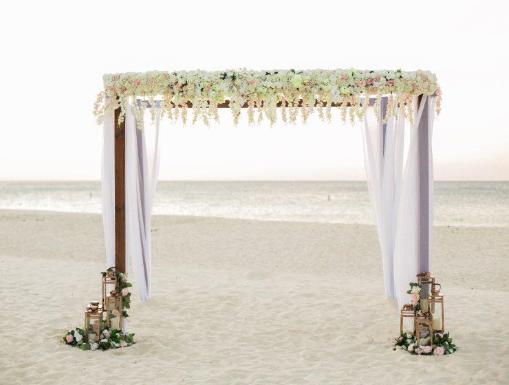 Aruba matrimonio in spiaggia
