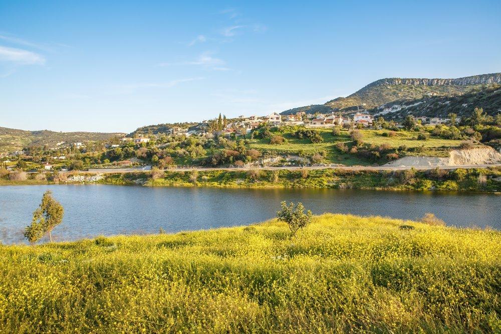 viaggio di nozze a Cipro, panorama dell'isola