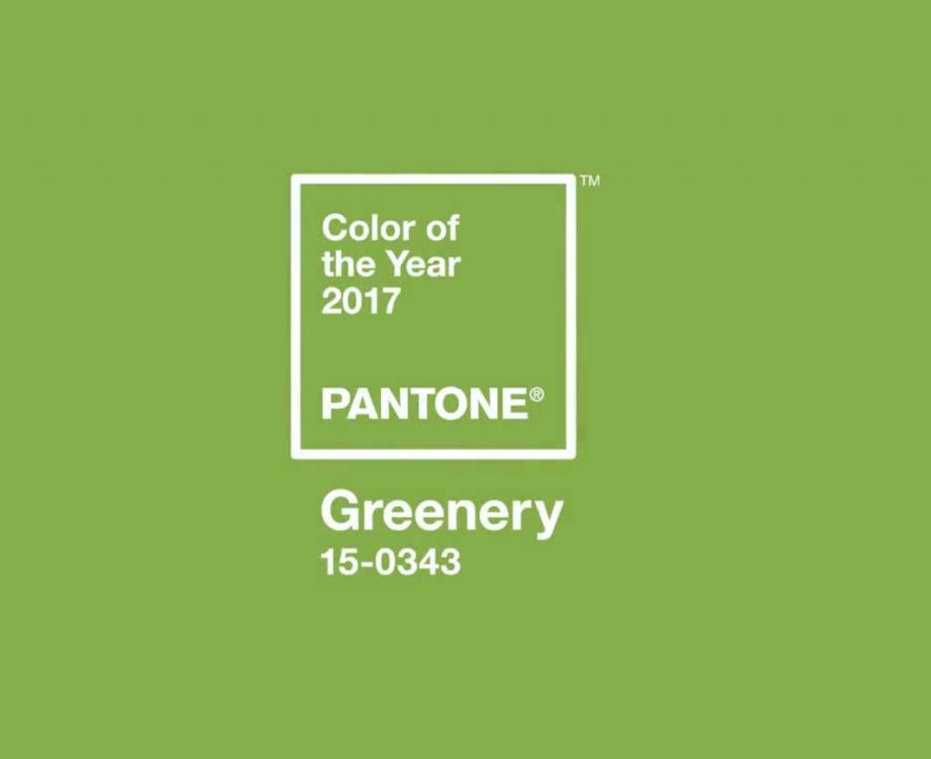 Il colore verde Greenery di Pantone, un verde molto delicato e non particolarmente acceso adatto a nozze eco e green